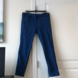 The Limited Exact Stretch Pants Size 8 Color Blue
